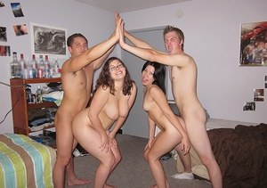 College Porn Videos: Girls in College think only