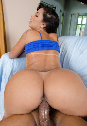 image Bubble butt latina riding cock