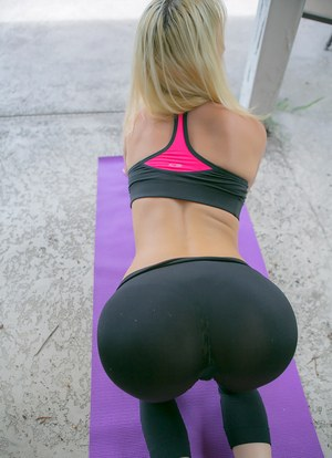 Pants Porn Yoga Ass
